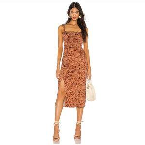 NWOT Free People Show Stopper Midi Dress
